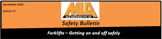 Safety Bulletin Nov 2018